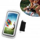 Armband Case Cover Holder Fr Samsung Galaxy S4 Mini i9190 (COLOR WHITE