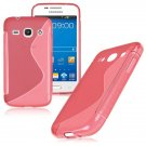 S-Line Soft TPU Case Cover Skin For Samsung Galaxy ( COLOR RED