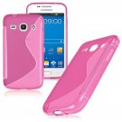 S-Line Soft TPU Case Cover Skin For Samsung Galaxy ( COLOR ROSE