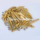 M3 Copper Cylinder + Nut Copper Column Bag