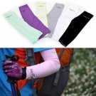Arm Sleeves Warmers Sun UV Protection Cycling Golf Bike Bicycle Running(1 pair)