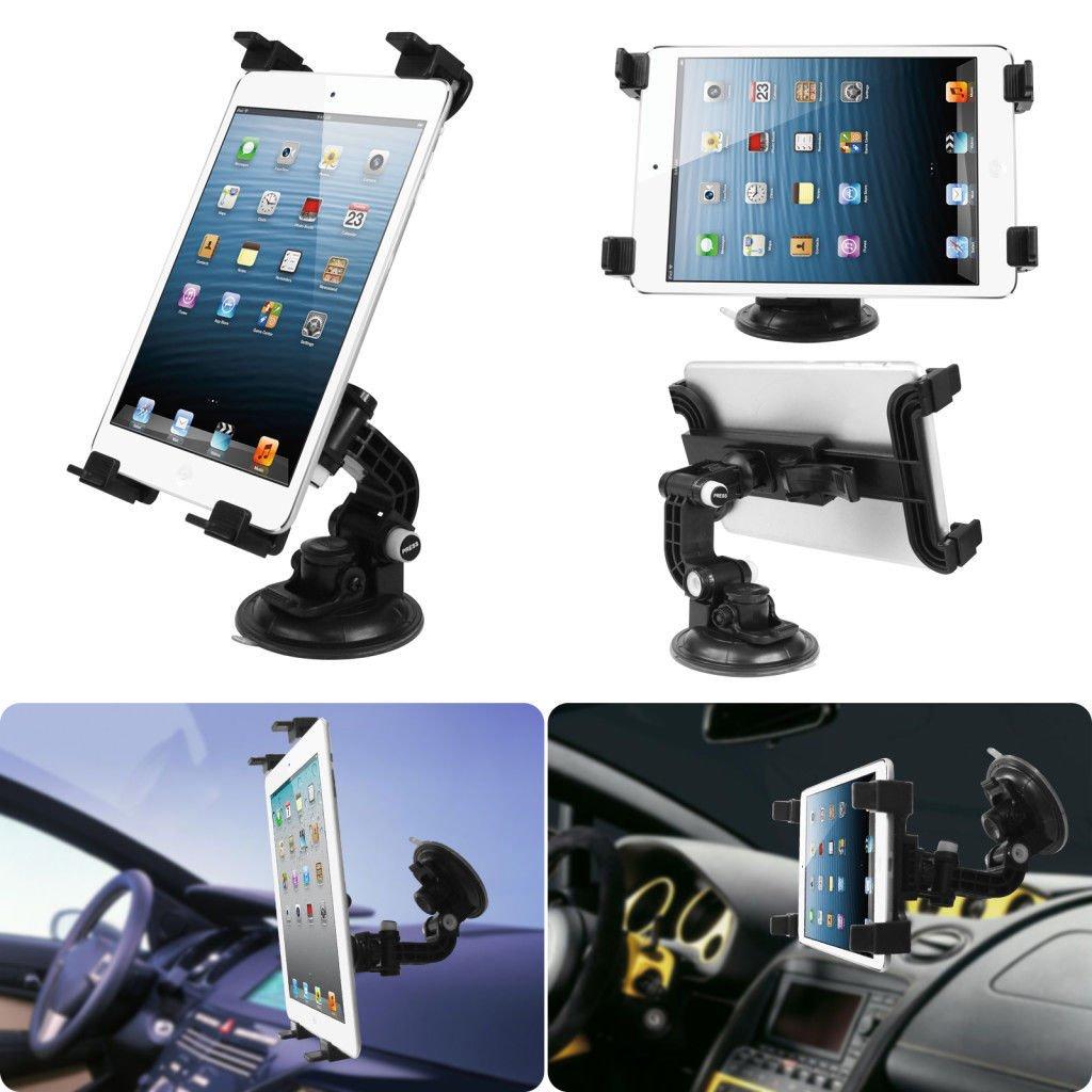 360°Car Windshield & Desk Top Mount Bracket Holder for iPad 2/3/4/Mini Tablet PC