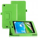 Folio PU Leather Case Cover Stand for Acer Iconia One 7 B1-730HD Tablet( color green