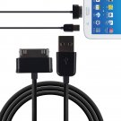2M 6ft USB Data Charger Cable Cord fr Samsung Galaxy Tab 2 3 7 7.7 8.9 Note 10.1