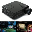 Home Cinema Theater Multimedia LED LCD Projector HD 1080P PC AV TV VGA USB HDMI
