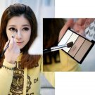 Four Color Pressed Powder Highlight And Contour Powder Shading Make-up Cosmetic LL9