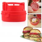 Stuffed Burger Press Hamburger Grill BBQ Patty Maker Juicy As Seen On TV  KK