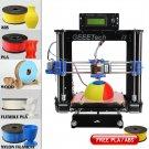 Print 5 materials Geeetech Prusa Reprap Acrylic I3 DIY LCD filament 3D Printer