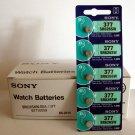 5 NEW SONY 377 SR626SW SR66 V377 watch battery