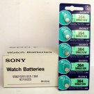 5 NEW SONY 364 SR621SW SR621 V364 LR621 SR60 Watch Battery