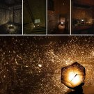 Home Decor Romantic Astro Star Sky Projection Cosmos Night Light Lamp