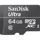 SANDISK ULTRA C10 UHS-I 30MB/S 64GB MICROSD MICROSDXC 64G G GB MEMORY CLASS 10