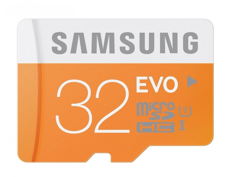 SAMSUNG MICRO SDHC EVO 32GB 48MB 32G 32 G GB MICRO SD UHS-1 C10 MEMORY CARD