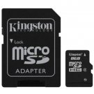KINGSTON MICRO SD MICRO SDHC C4 8GB 8G 8 G CLASS 4 FLASH MEMORY CARD NEW