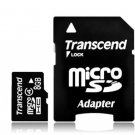 TRANSCEND MICRO SD MICRO SDHC C4 8GB 8G 8 G GB FLASH MEMORY CARD