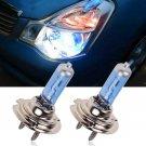 2-Piece H7 6000K Xenon Gas Halogen Headlight White Light Lamp Bulbs 100W 12V