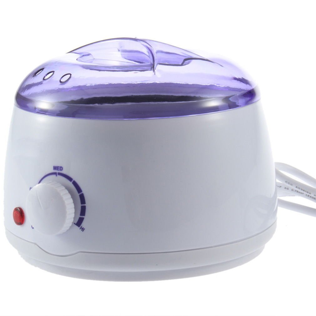 how to use wax heater at home
