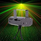 Mini LED R&G Laser Projector Stage Lighting Adjustment DJ Disco Party Club