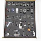 32 pcs Sewing Machine Feet Set Braiding/Blind Stitch/Darnign Foot Kit