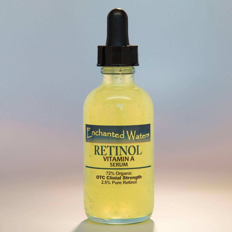 PURE RETINOL VITAMIN A 2.5% + HYALURONIC ACID - RETINOL WRINKLE CREAM / SERUM  (1.2oz