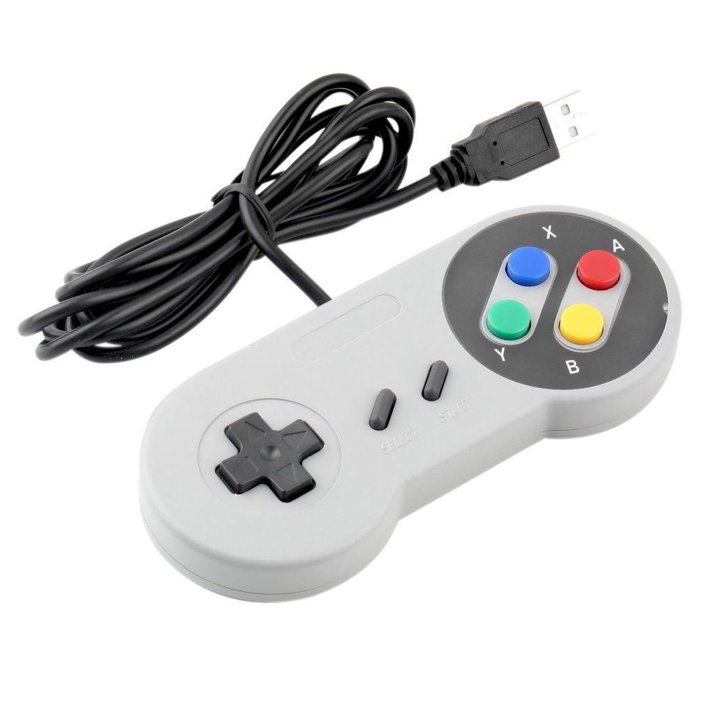 1 x Retro Super Nintendo SNES USB Controller for PC/MAC Controllers