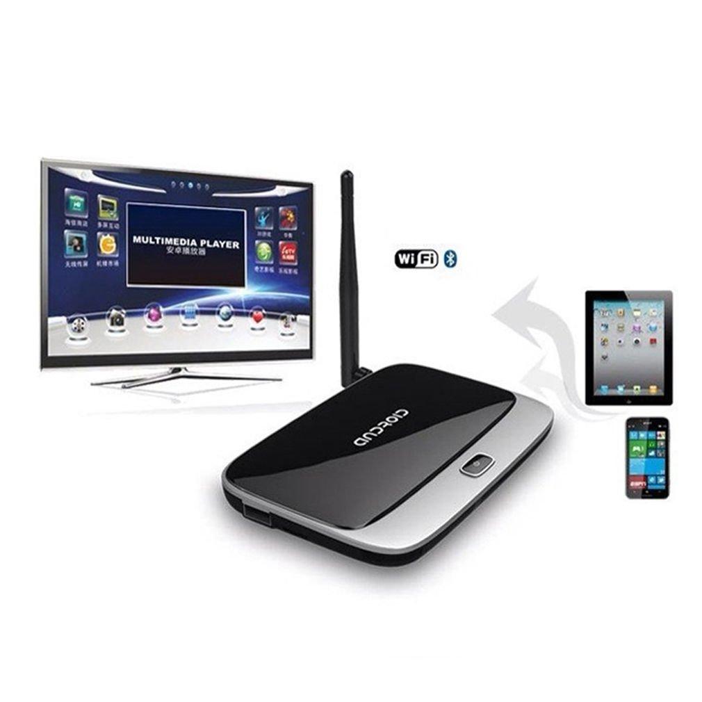 Quad Core Android 4.4 Smart TV Box Player XBMC HDMI WiFi 1080P 2GB 8GB