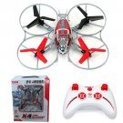 Syma X4 2.4G 4CH Remote Control RC Helicopter QuadCopter Aircraft Gyro Red New USA Seller