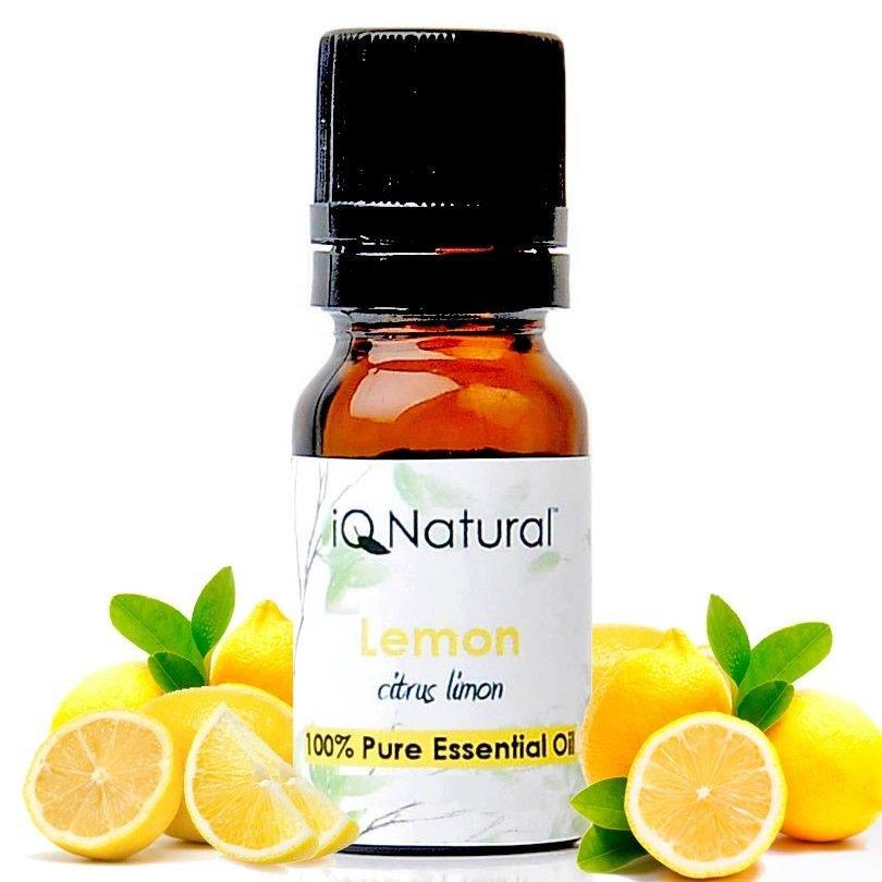 Essential Oil: Lemon (Citrus limon) -- 100% Pure Uncut 5ml
