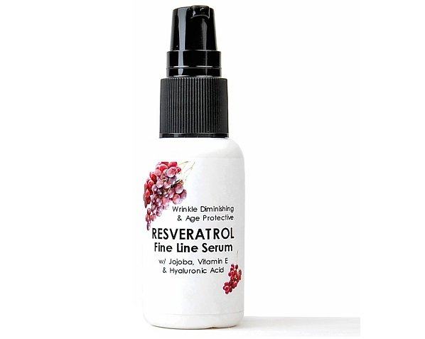 Firm Skin RESVERATROL Serum Hyaluronic Acid Anti Aging Wrinkle Fine Line Cream
