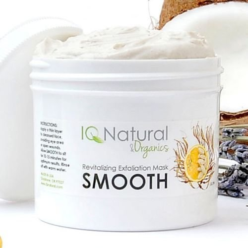 Organic Nourishing EXFOLIATING Anti Aging Collagen FACIAL MASK Spirulina Vit C (2oz)