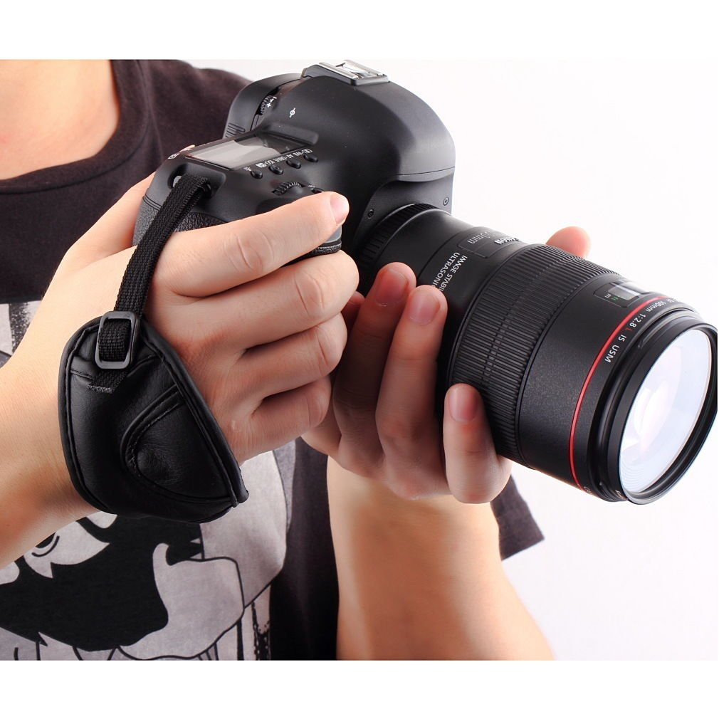 Adjustable Hand screw Wrist Strap Grip For Digital camcorder DSLR SLR Camera