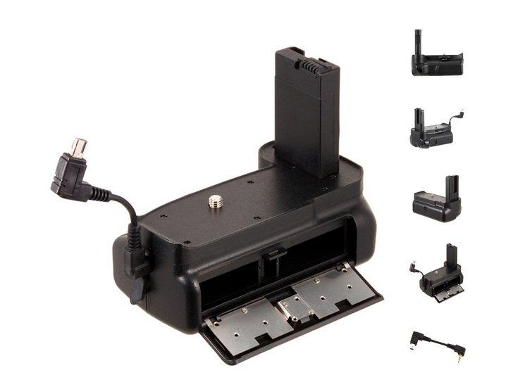 BG-2F Vertical Battery Grip Holder for Nikon D3100 D3200 D3300