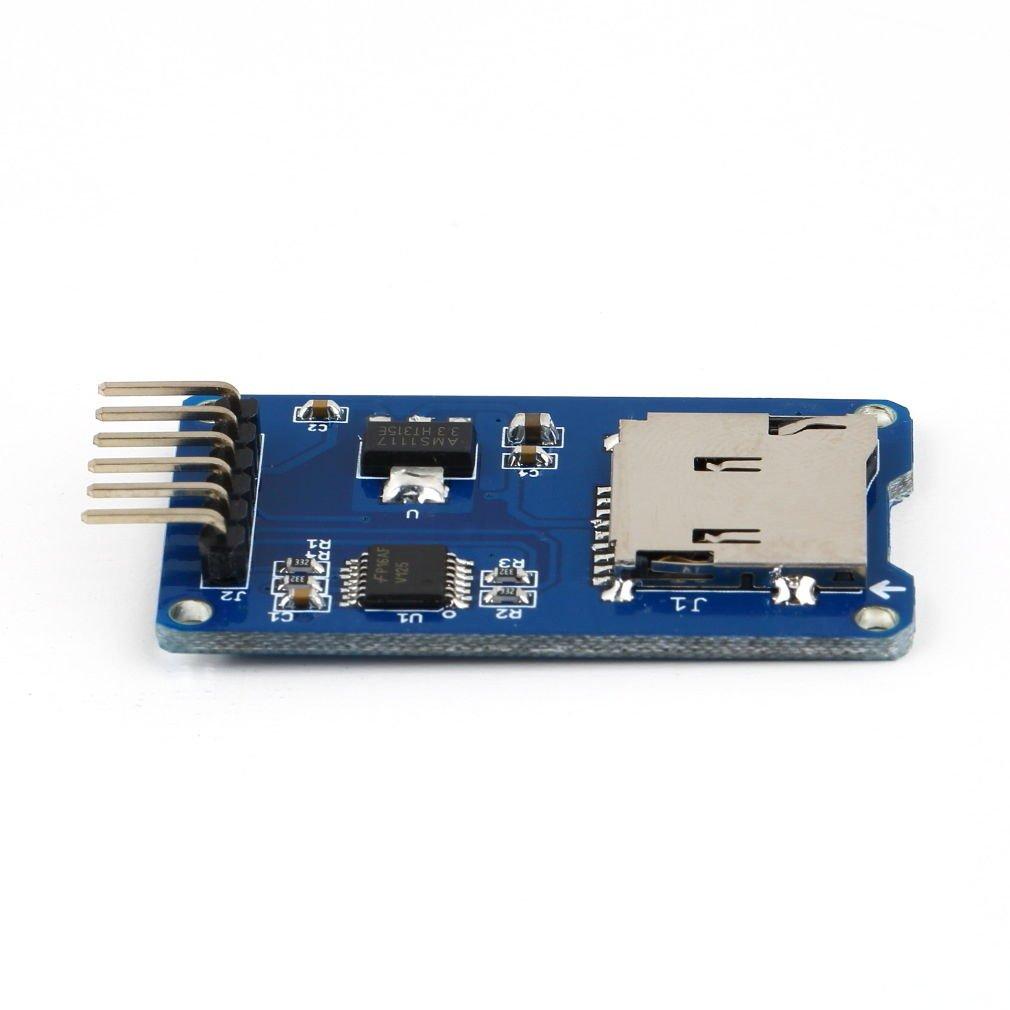 Micro SD Storage Board Mciro SD TF Card Memory Shield Module SPI For Arduino