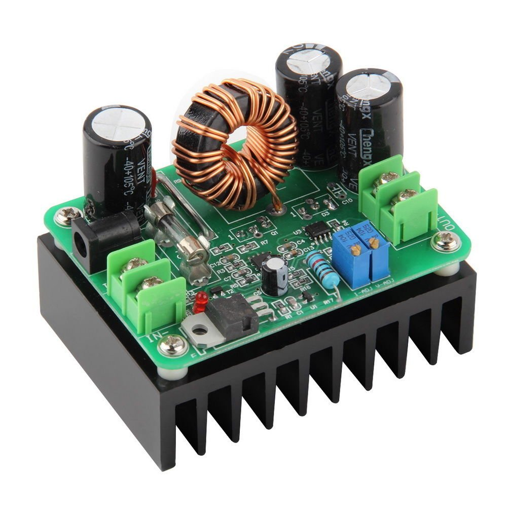600W DC-DC 10-60V to 12-80V Boost Converter Step-up Module Power Supply