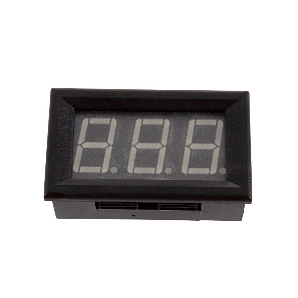 Blue LED Digital Ammeter AMP Mini Current Panel Meter DC 4.5-28V 0-9.99A