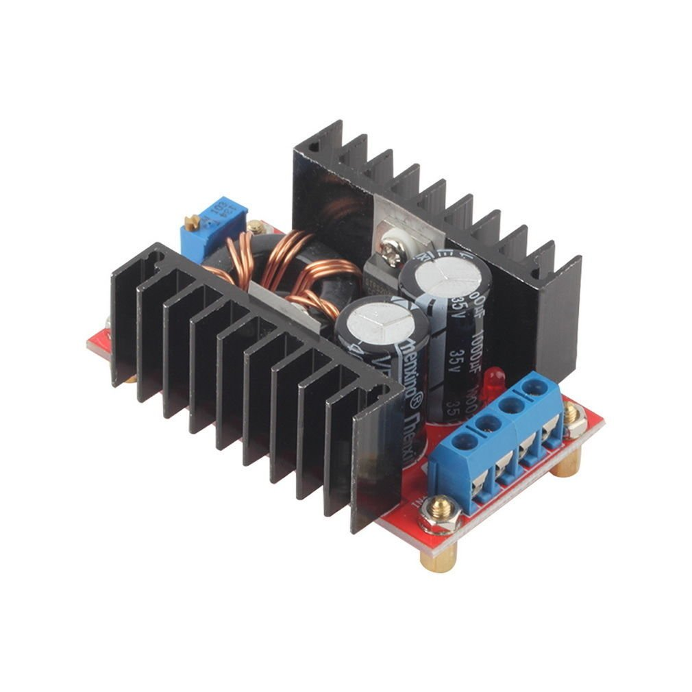 150W DC-DC Boost Converter 10-32V to 12-35V Step Up Charger Power Module