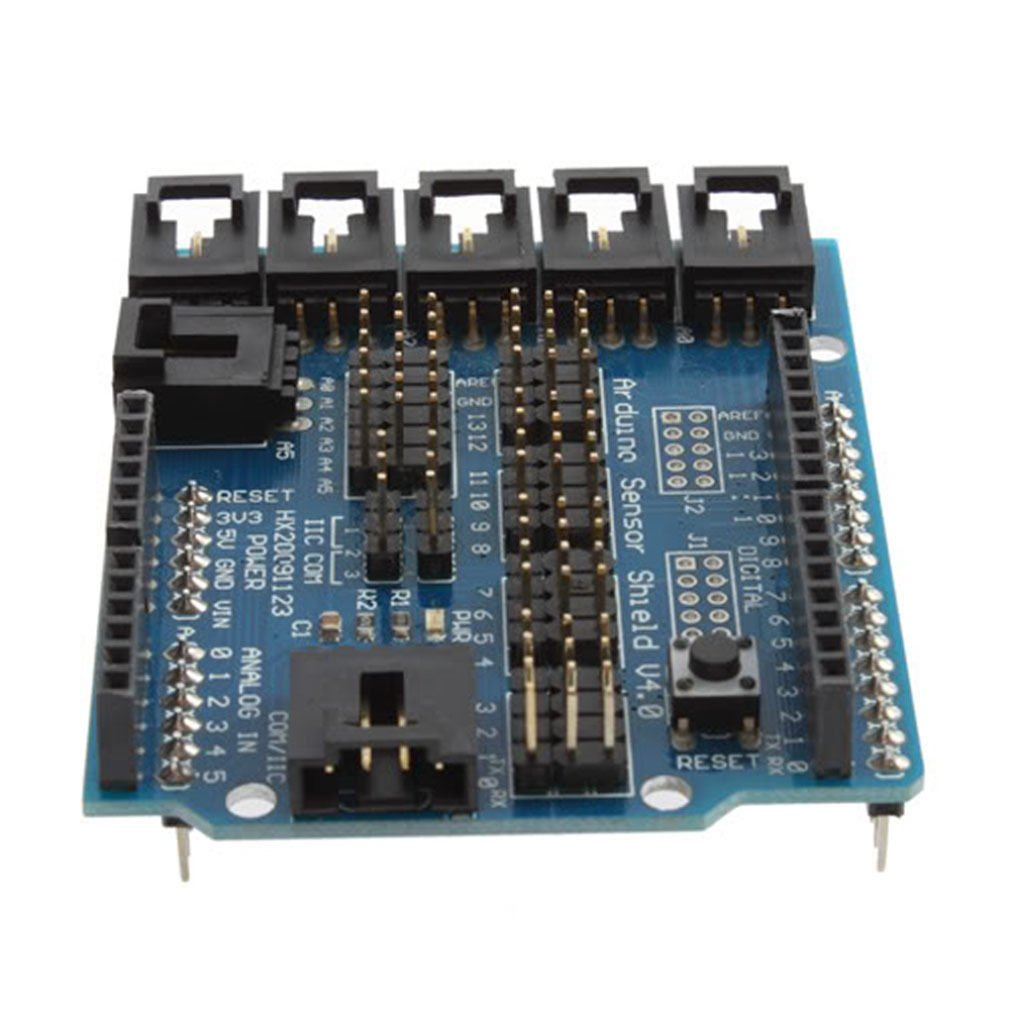Sensor Shield V4 Digital Analog Module & Servo Motor For Arduino UNO Duemilanove