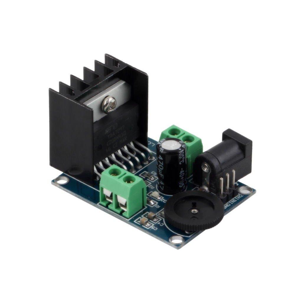 DC 6 to 18V TDA7297 Audio Power Amplifier Module Double Channel 10-50W