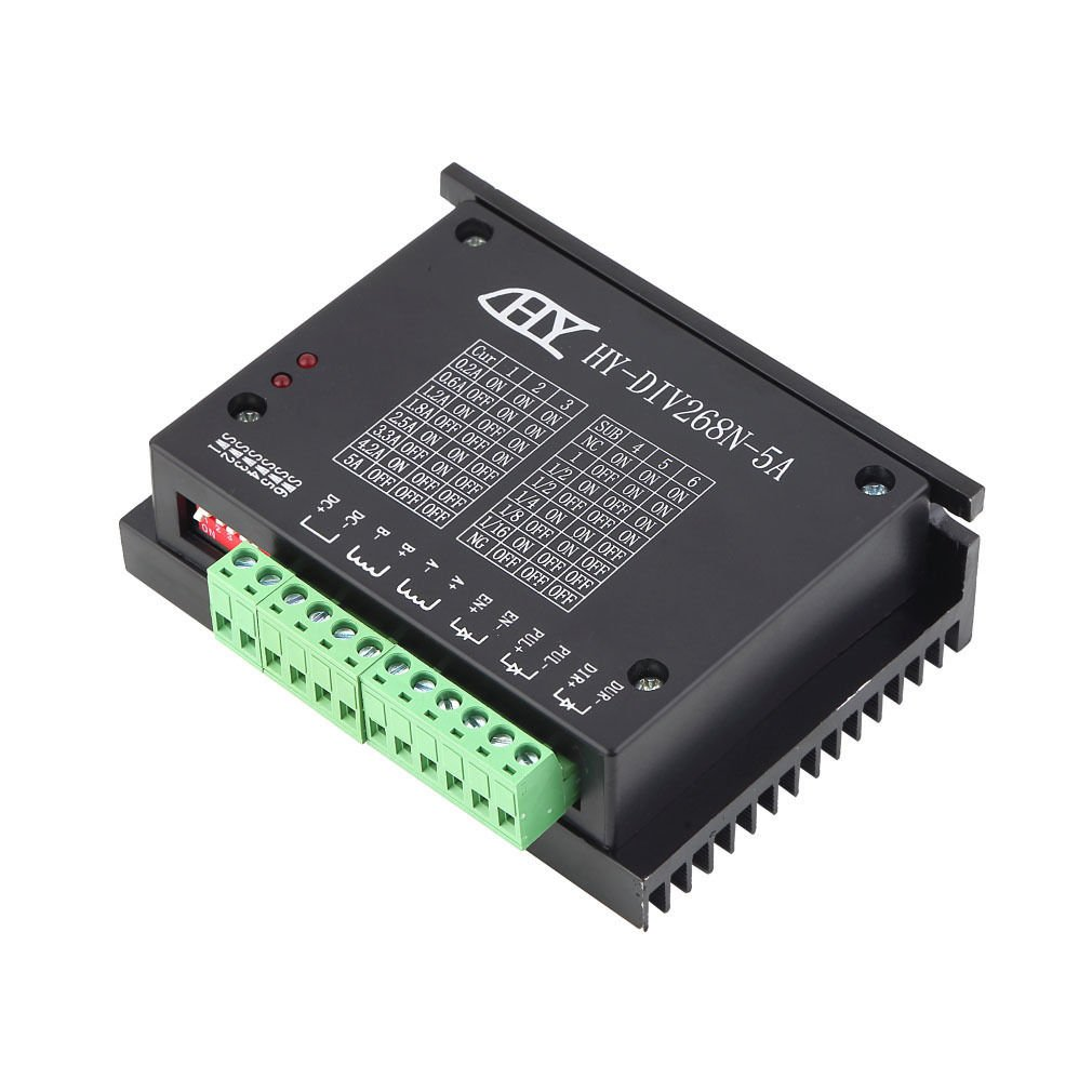 CNC Single Axis TB6600 0.2-5A Two Phase Hybrid Stepper Motor Driver Controlle