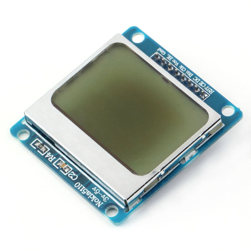 84*48 84x84 LCD Module White backlight adapter PCB for Nokia 5110 Arduino