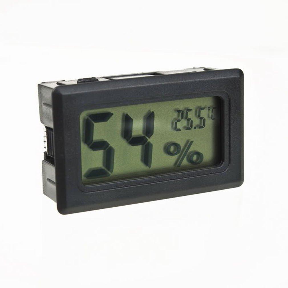 Mini Thermometer Hygrometer Temperature Gauge Humidity Meter Digital LCD Monitor