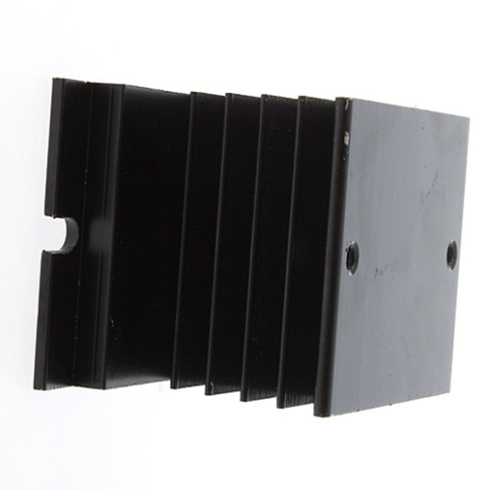 Security New Aluminum Heat Sink For Solid State Relay SSR Heat Dissipation