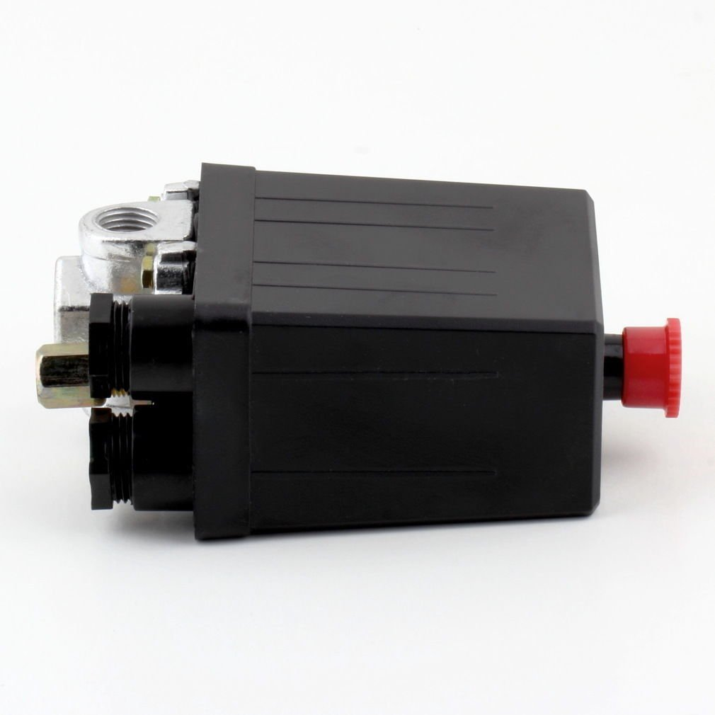 Heavy Duty Air Compressor Pressure Switch Control Valve 90 PSI -120 PSI