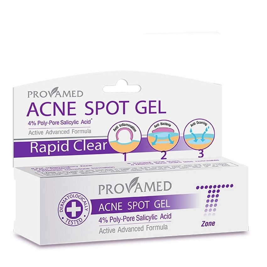 New Spot cream Gel for cystic acne pimple Clear skin face care treatment 10ml.