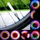 2X 5 LED Cycling Bike Bicycle Motorcycle Car Tire Wheel Spoke Flash Light Set