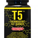 T5 FAT BURNER  SLIMMING DIET PILLS WEIGHT LOSS CAPSULES (Capsules 120