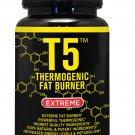 T5 FAT BURNER  SLIMMING DIET PILLS WEIGHT LOSS CAPSULES (Capsules 180