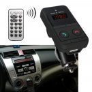 Handsfree Car Wireless MP3 Player Bluetooth FM Transmitter USB SD Mic Remote             JY6