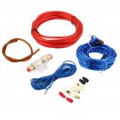 1500W 8GA Car Audio Subwoofer Amplifier AMP Wiring Fuse Holder Wire Cable Kit               EE5