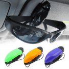 Car Vehicle Accessory Sun Visor Sunglasses Eye Glasses Card Pen Holder Clip                EE5